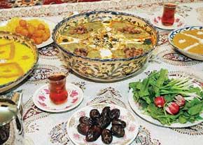 افطاری و سحر دانشجو