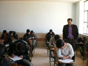 تقلب در امتحان