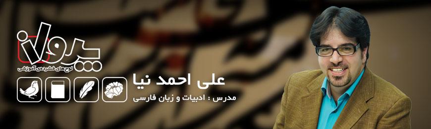 استاد علی احمد نیا