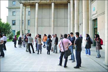 وظیفه دانشگاه ایجاد بسترهای مناسب برای فعالیت دانشجویان است