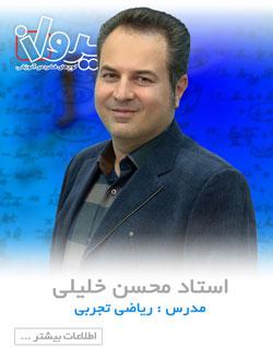 استاد محسن خلیلی
