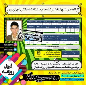 علیرضا آقا شریف