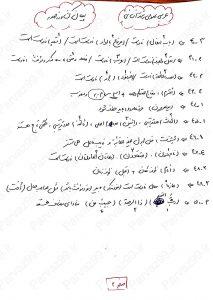 تحلیل درس عربی