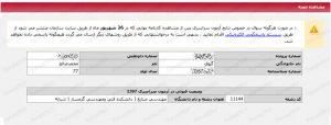 کارنامه محمدصالح گیوی رتبه 6640 رشته علوم ریاضی